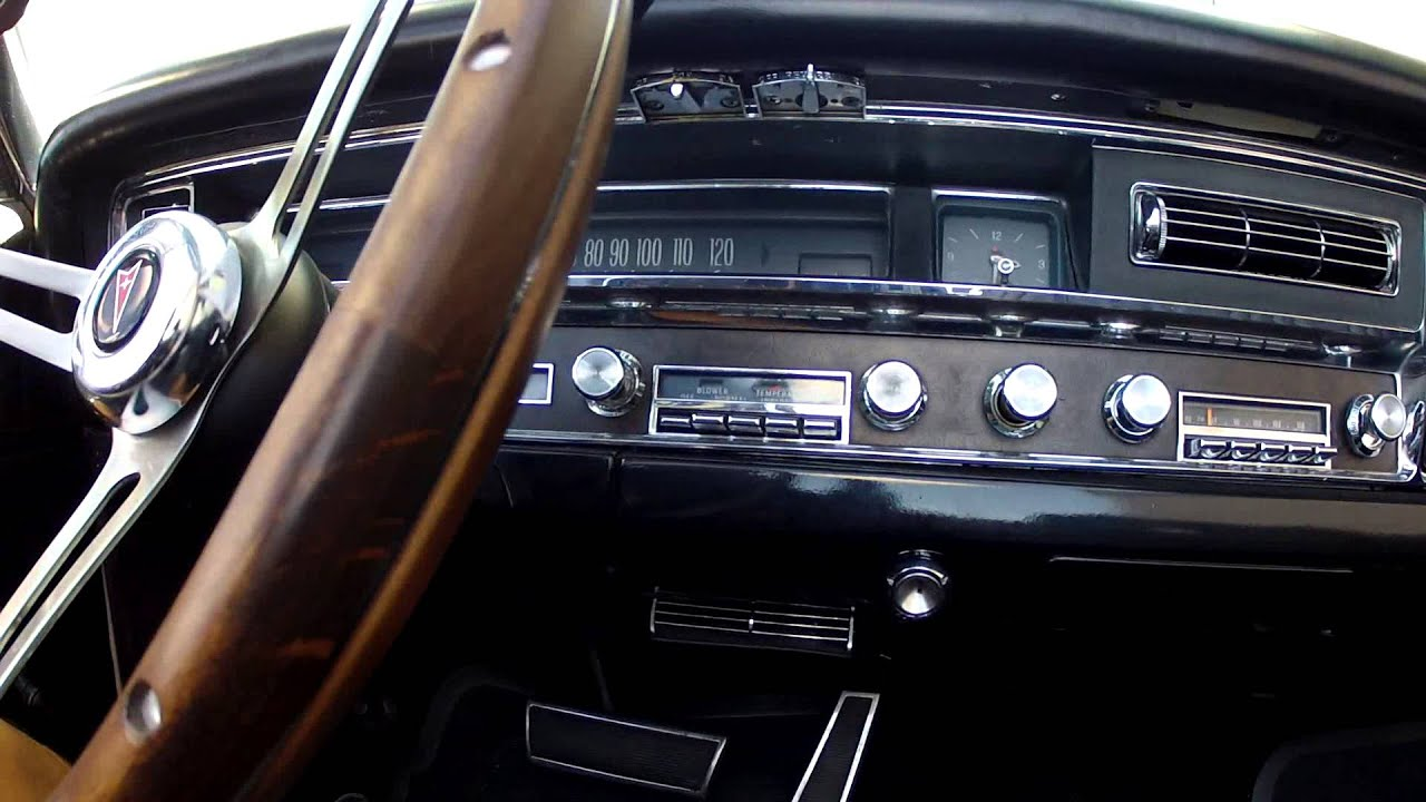 1967 Pontiac Bonneville Convertible  White With Black