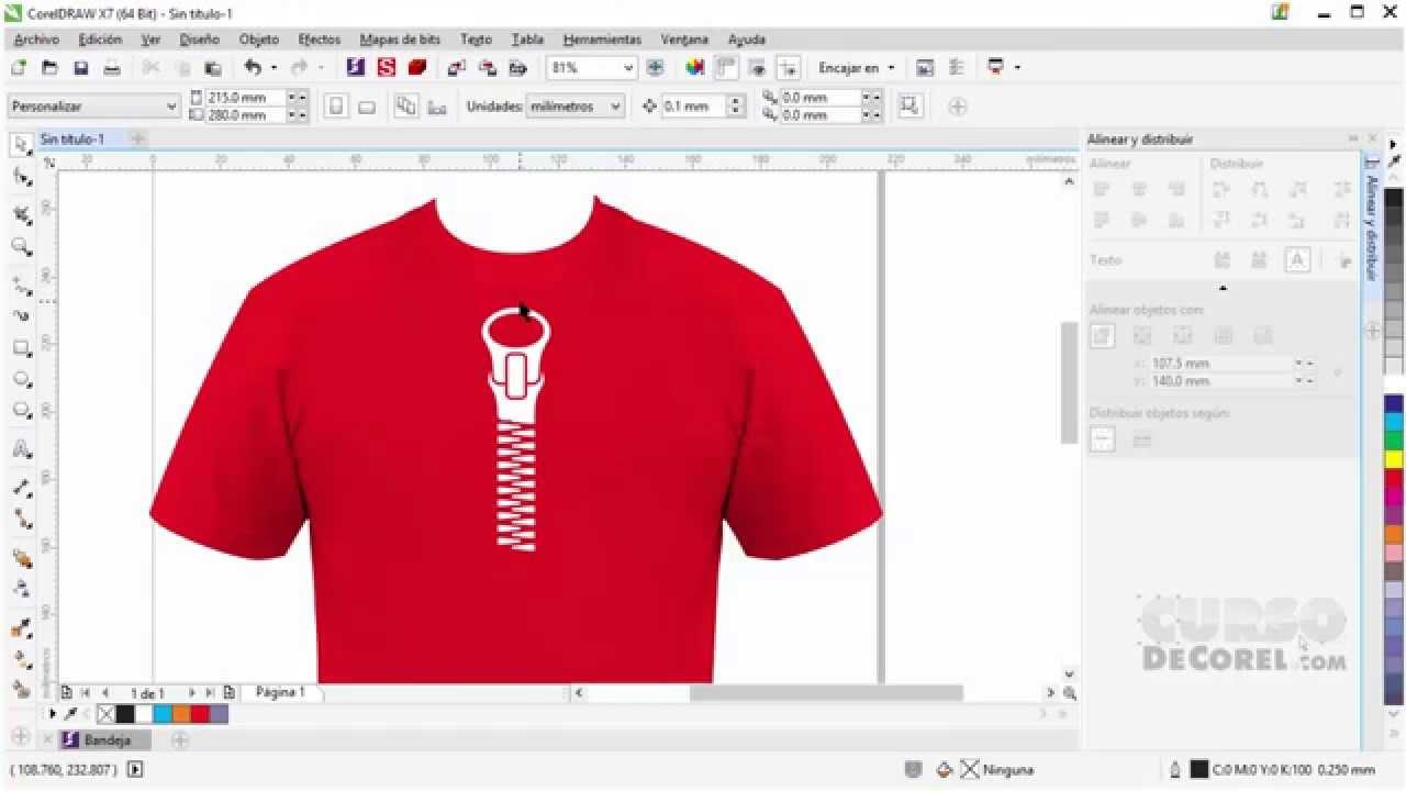 como hacer una camiseta con diseño de zipper en corel draw y mcyoutube tv no long term contract