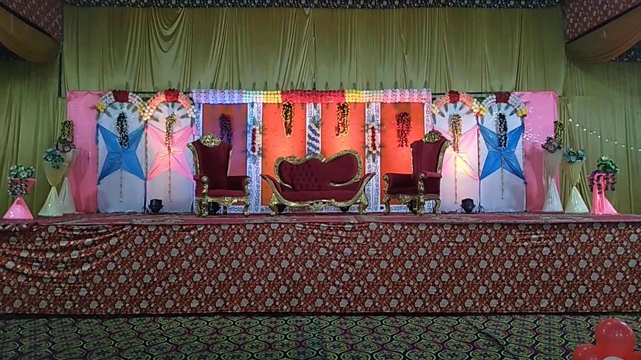 Anchal Stage Decoration Wedding Ceremony At Ashoka
