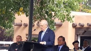 Santa Fe Indigenous Day Commemoration 2018 Mayor Webber Santa Fe