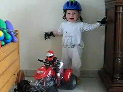 arthur 20 mois en wheeling