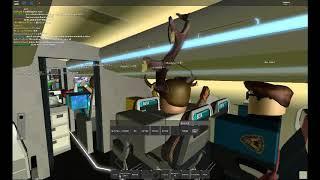 Roblox Beta Airlines Flug 172 | Teil 4 | Kreuzfahrt | Morgen | heruntersteigen