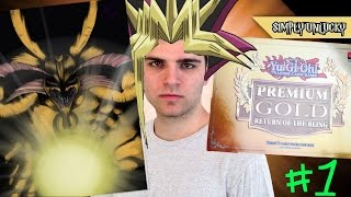 Best Yugioh Premium Gold, Return Of The Bling Booster Box Opening! ..Exodia Obliterate!.. #1