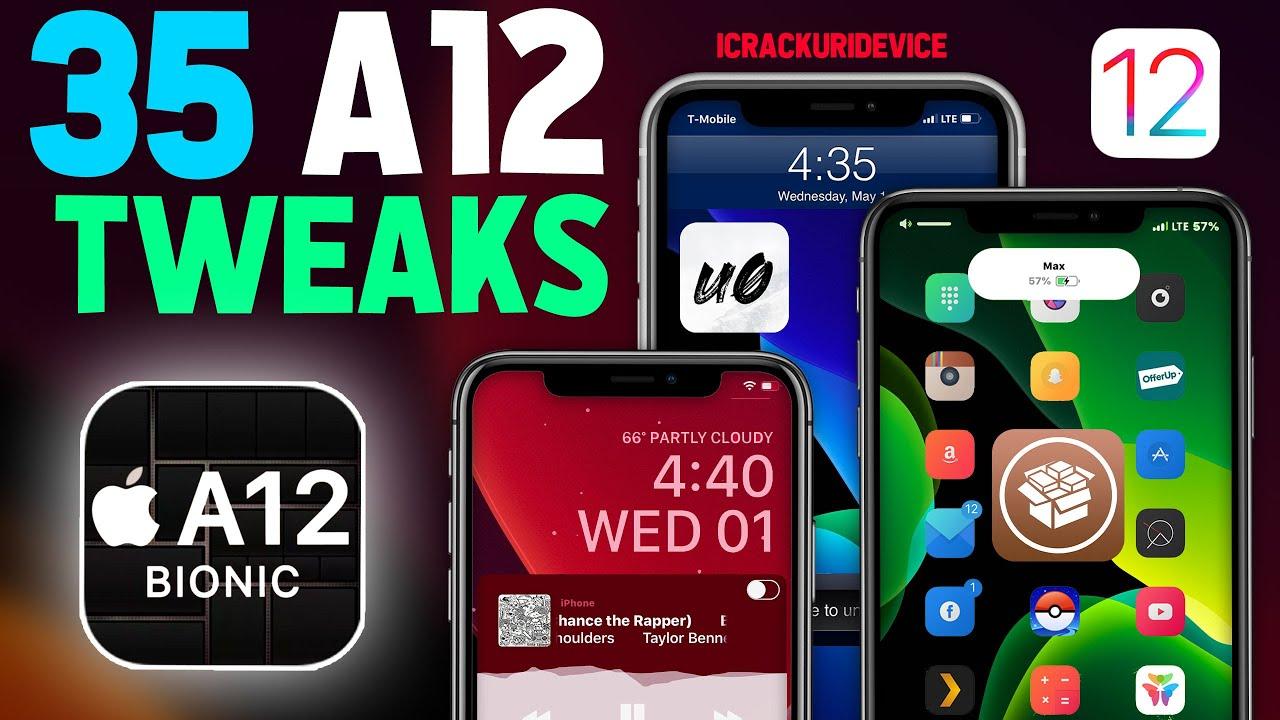 Top 35 Best A12 iOS 12 4 Jailbreak Tweaks! (Cydia A12 Tweaks #1)