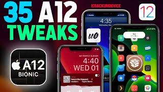 Top 35 Best A12 iOS 12.4 Jailbreak Tweaks! (Cydia A12 Tweaks #1)