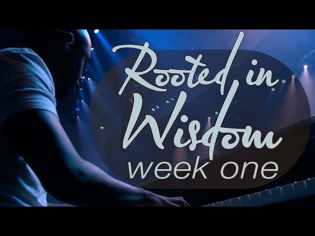 Rooted in Wisdom   Week 1   Sunday Mass for June 20