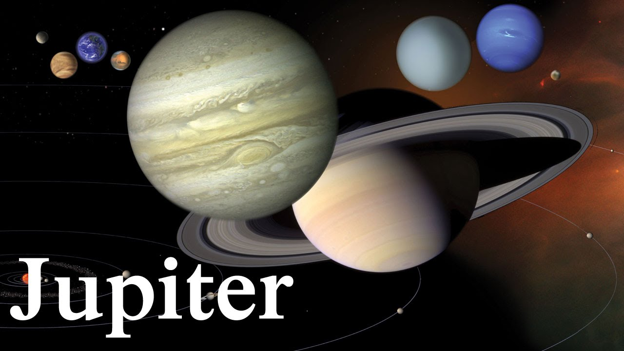 Jupiter - Largest Planet In Solar System - YouTube