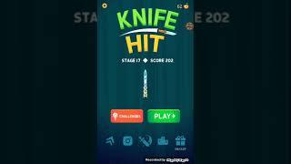 Knife hit /w Kr. Prods