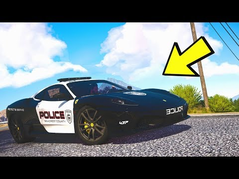 $1,249,899 FERRARI COP CAR! (GTA 5 Roleplay)