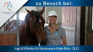 Zu Besuch bei: Ingrid Klimke & Horseware Hale Bob OLD
