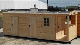 видео Блок-контейнеры для жилья с удобствами