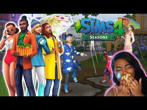 The Sims 4 Seasons: Holidays Official Gameplay Trailer (REACTION) |