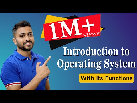 L-1.1: Introduction to Operating System and its Functions with English Subtitles