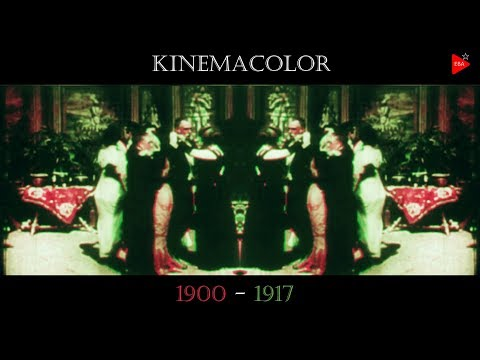 The pioneers of color motion picture ☆ Carillon mood of Kinemacolor (1906)