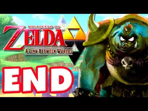 The Legend of Zelda: A Link Between Worlds - Gameplay Walkthrough Part 23 - Ending! (Nintendo 3DS)