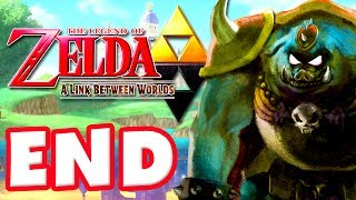 The Legend of Zelda: A Link Between Worlds - Gameplay Walkthrough Part 23 - Ending! (Nintendo 3DS)