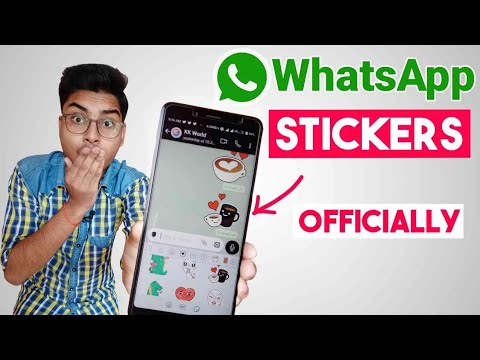 How to Use WhatsApp Stickers Offically | Install Now | in Hindi