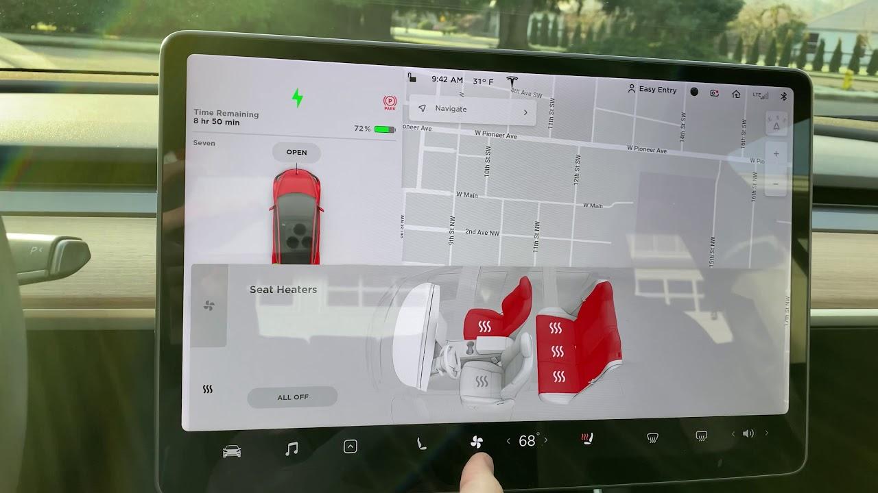 Tesla Voice Command 2019 Update 2019.40.50.1 - YouTube