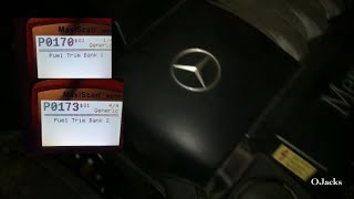 Fix for Code PO170 and PO173 on CLK320 Mercedes