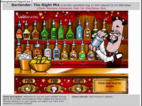 Y8 Games Bartender The Right Mix The Right Mix