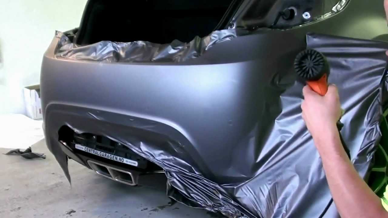 Hyndai Velouster Wrapping Matt Dark Grey 3m 1080 Youtube
