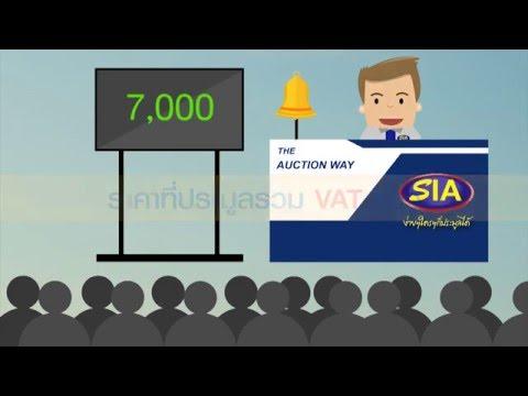 ขั้นตอนการประมูลรถที่สยามอินเตอร์การประมูล(SIA)