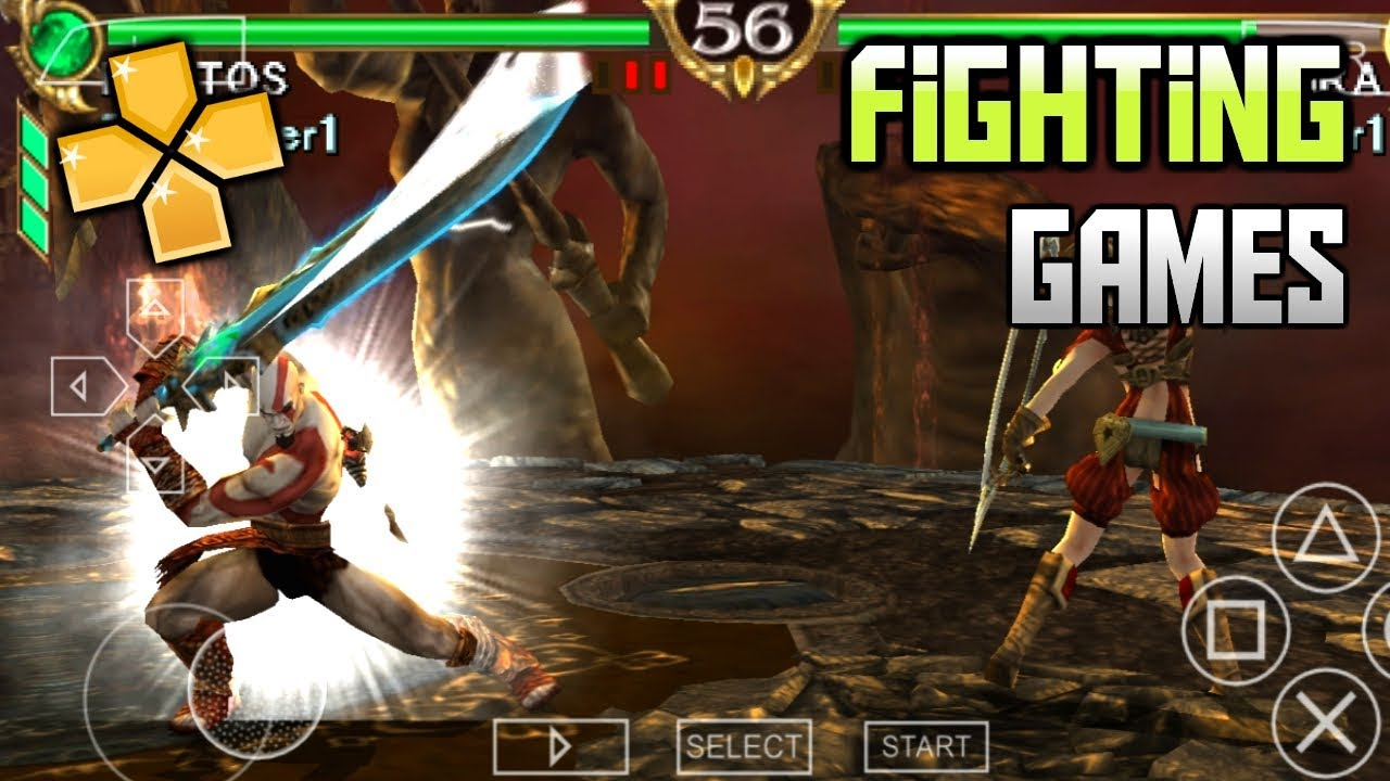 Download Top 10 Best Fighting Games for PSP (PPSSPP)