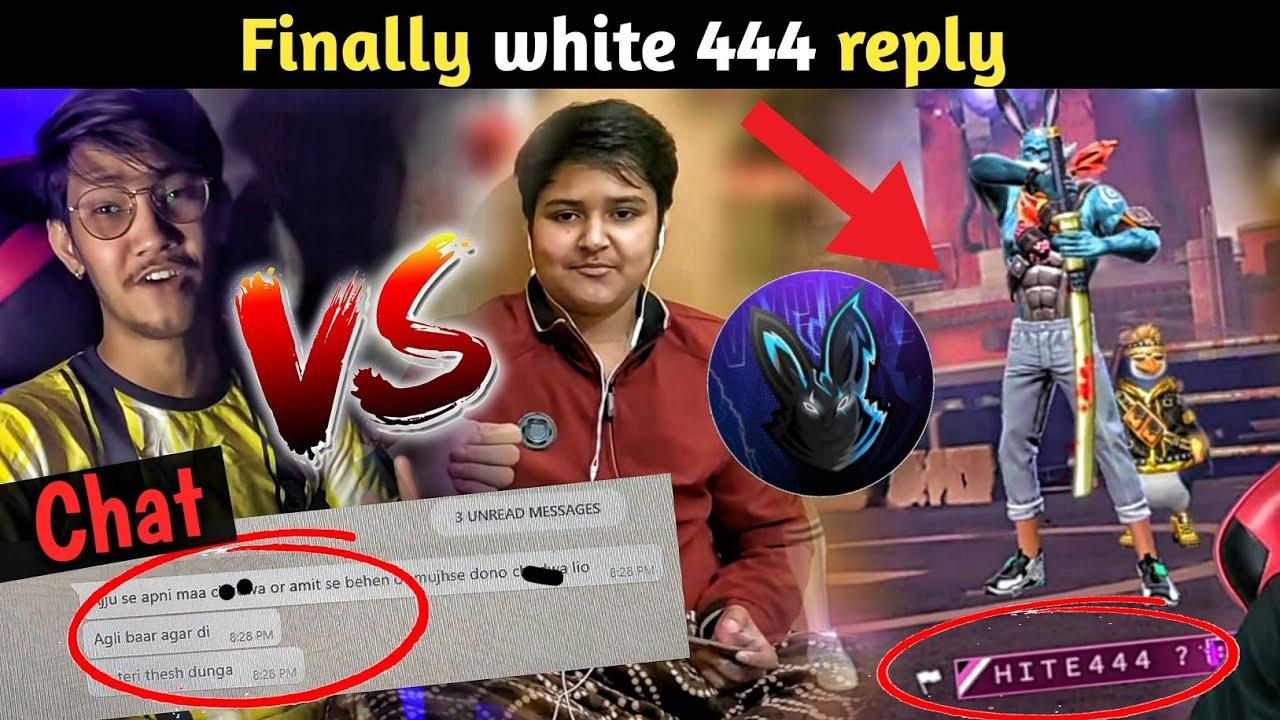 Pahadi gaming vs killer || Full matter explain || finally white 444 reply