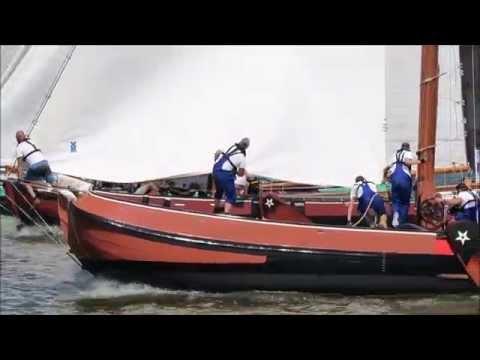 Skutsje sailing - Lemmer (August 2015)