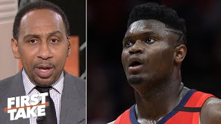 Stephen A.: Zion will fall short of expectations because the Pelicans are inexperienced | First Take