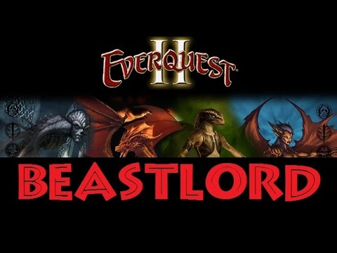 Everquest 2: Beastlord review, pets, skills, taming and gameplay