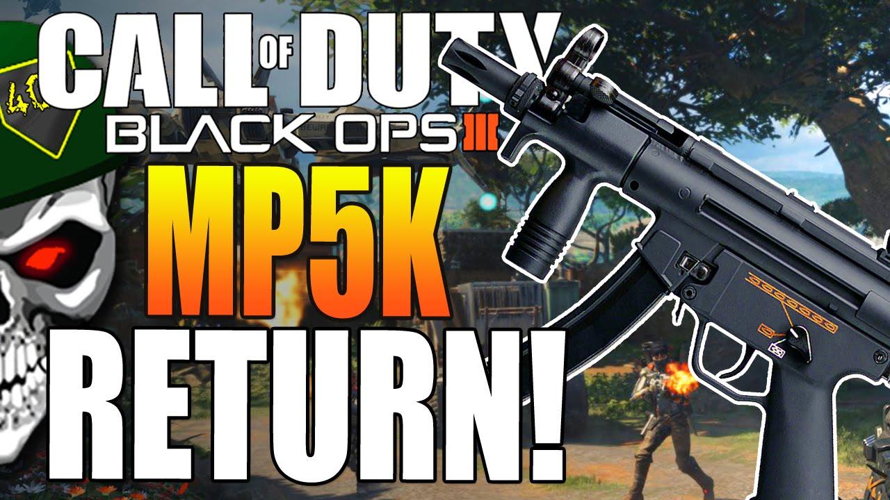 MP5K Returns In Black ...