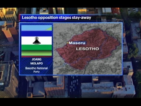 Lesotho's opposition parties urge citizens to stay away from work