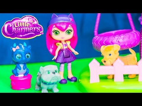 Unboxing The  Little Charmers And Puppy In My Pocket Toys