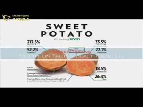 Nutrition Values Of Sweet Potato And Health Benefits