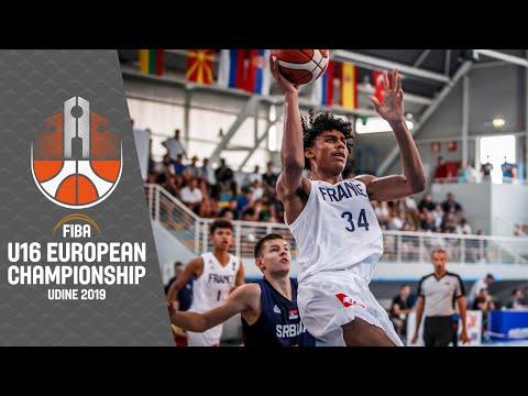 France v Serbia - Full Game - FIBA U16 European Championship 2019