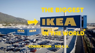 I took my son to the biggest IKEA in the world (or the US) - IKEA Burbank