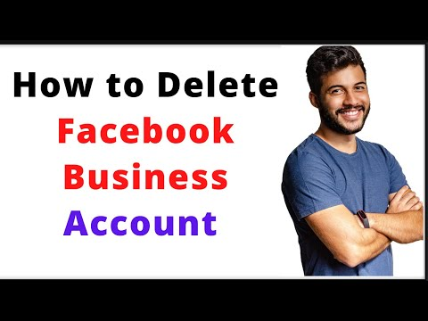 How To Delete Facebook Business Account | Remove Fb Business Account