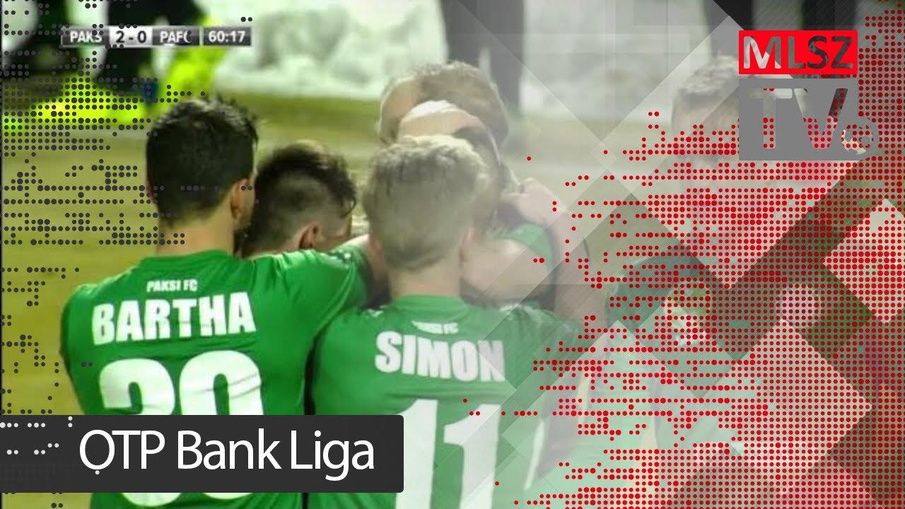 Paksi FC - Puskás Akadémia FC | 3-1 (1-0)| OTP Bank Liga | 22. forduló | 2017/2018 | MLSZTV