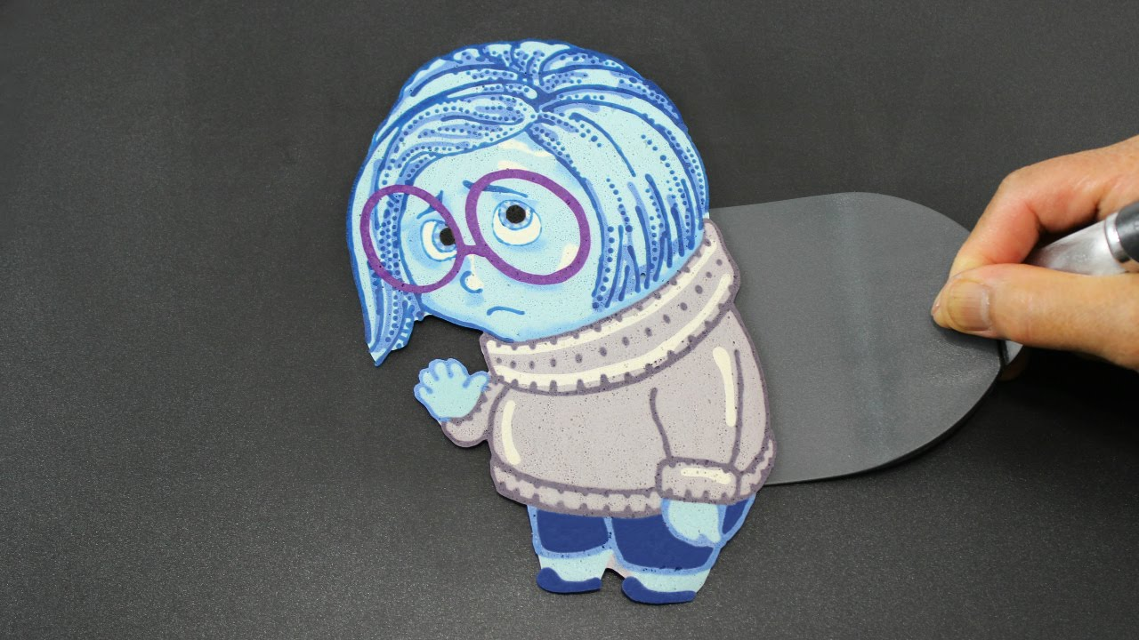 pancake inside out sadness disney pixar intensa