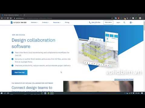 BIM 360 Design | Bài 1: Giới thiệu về BIM 360 Design