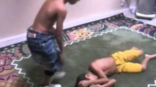 John Cena VS Steve Austin In Arabic