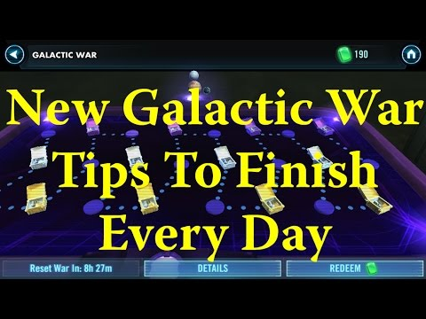 Star Wars: Galaxy Of Heroes - Tips On Finishing New Hard Galactic Wars