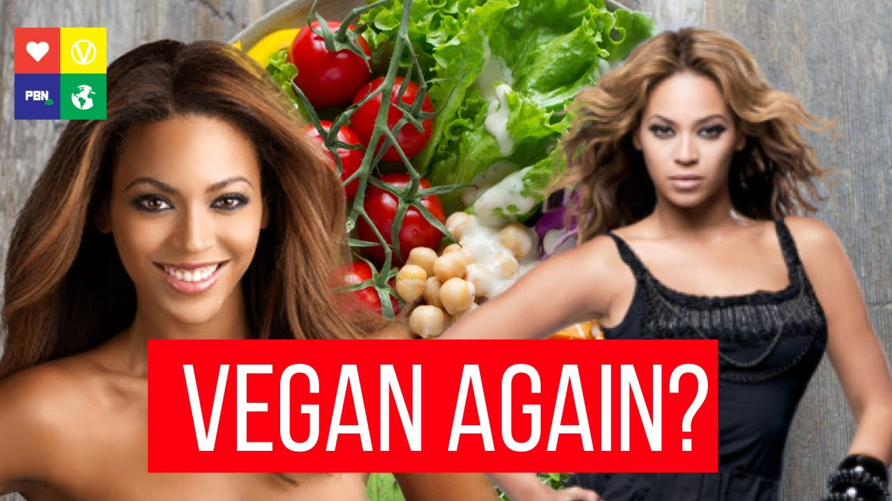 'IT'S VEGAN TIME': Beyonce Announces Plant-Based Diet AGAIN