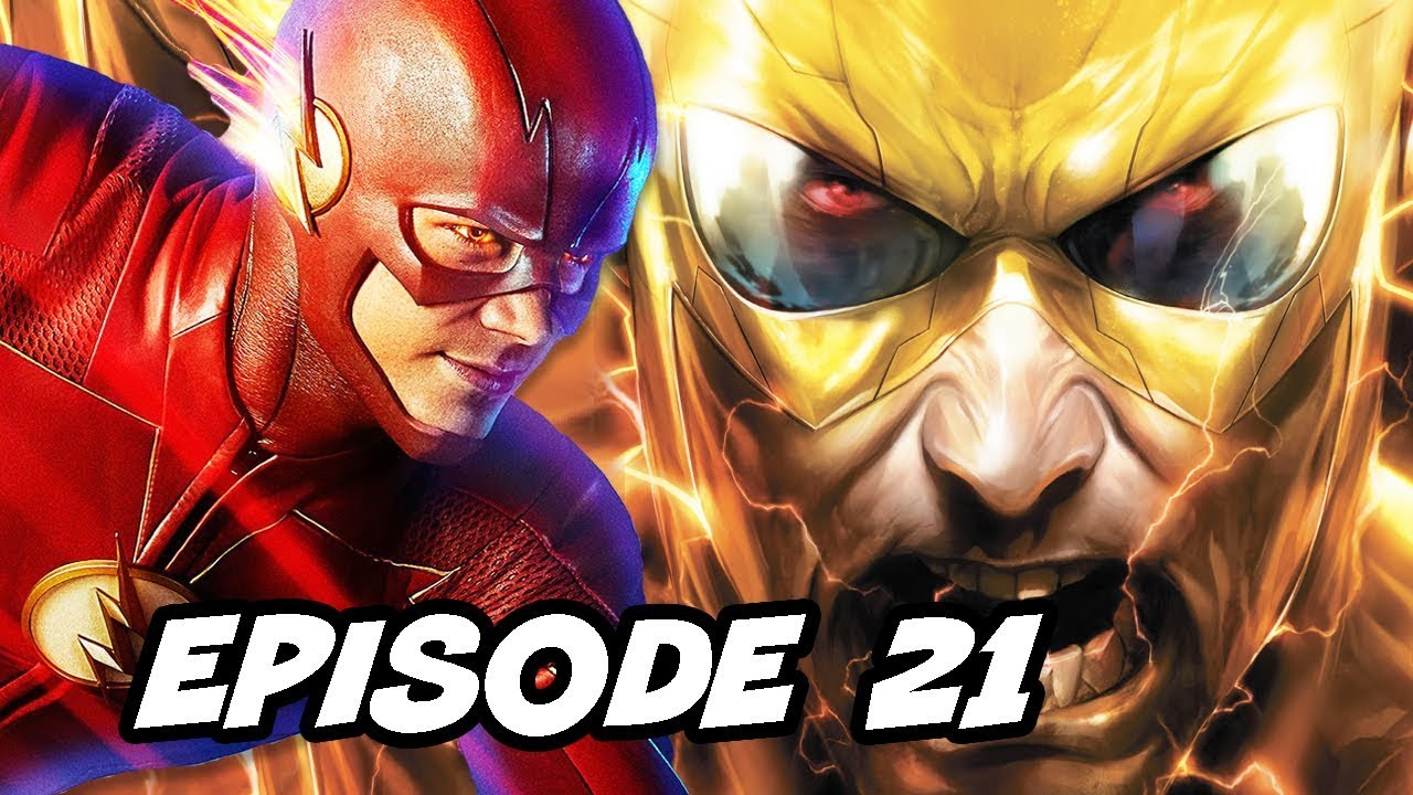 The Flash Season 5 Episode 21 and Flash Finale Easter Eggs Breakdown