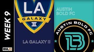 LA Galaxy II vs. Austin Bold FC: May 4th, 2019