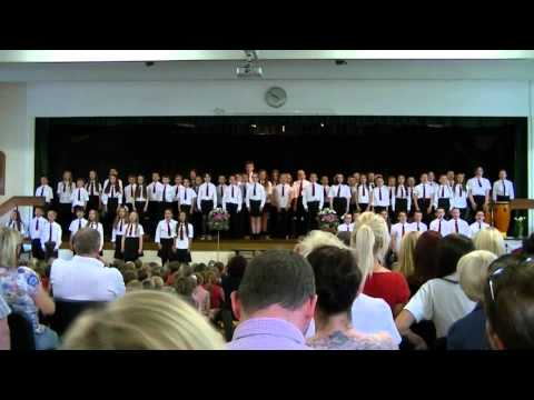 Ysgol Gymraeg Dewi Sant Y Rhyl - year 6 leaving ceremony 5th July 2012 - You lift me up (Welsh)