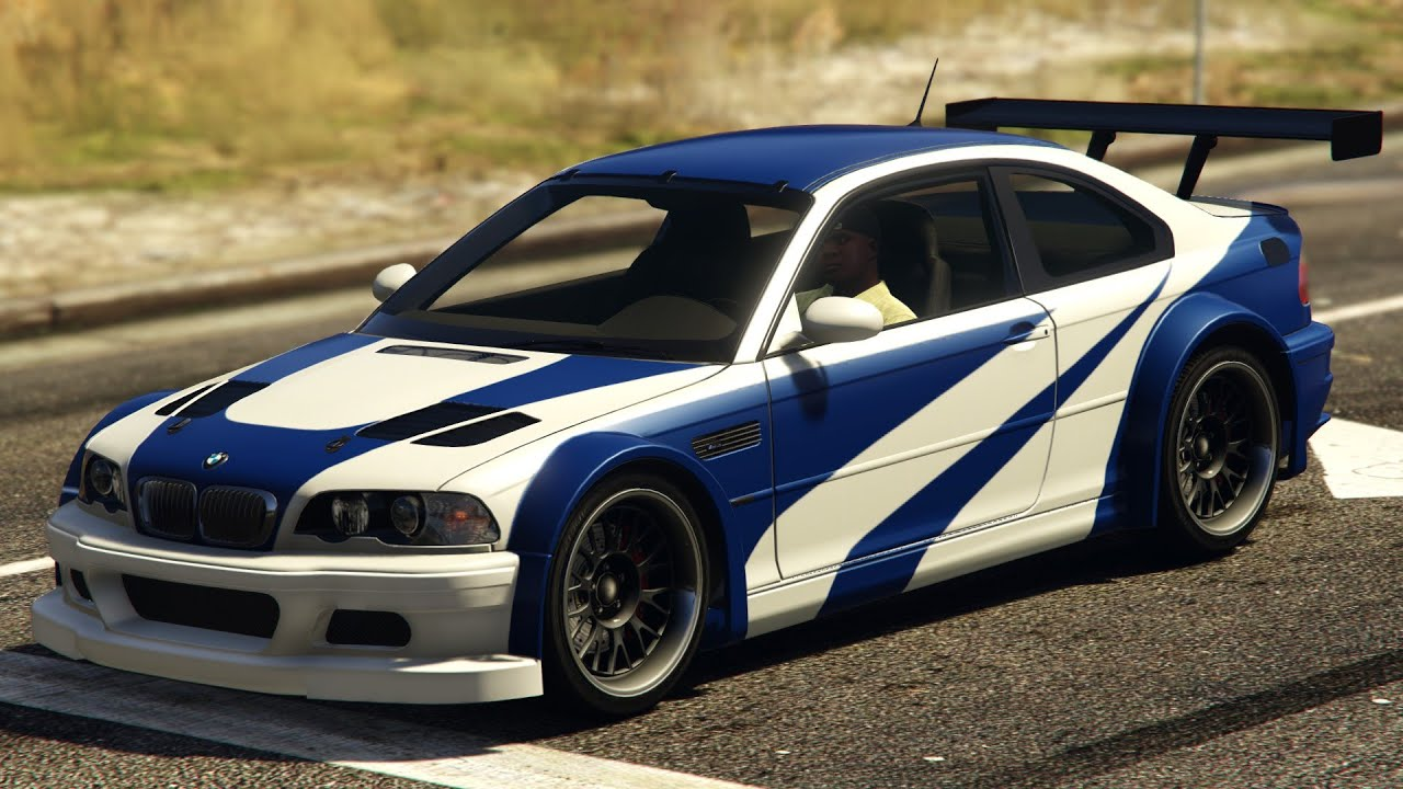 "GTA V PC ""Most Wanted"" BMW M3 GTR E46 Mod - YouTube"