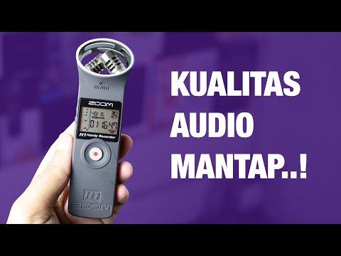 Review Zoom H1 Indonesia Contoh Hasil Rekaman Audio Dsb Youtube