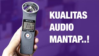 Review Zoom H1 Indonesia — Contoh Hasil Rekaman Audio, dsb